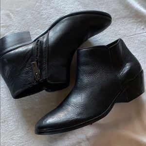 Sam Edelman leather ankle booties